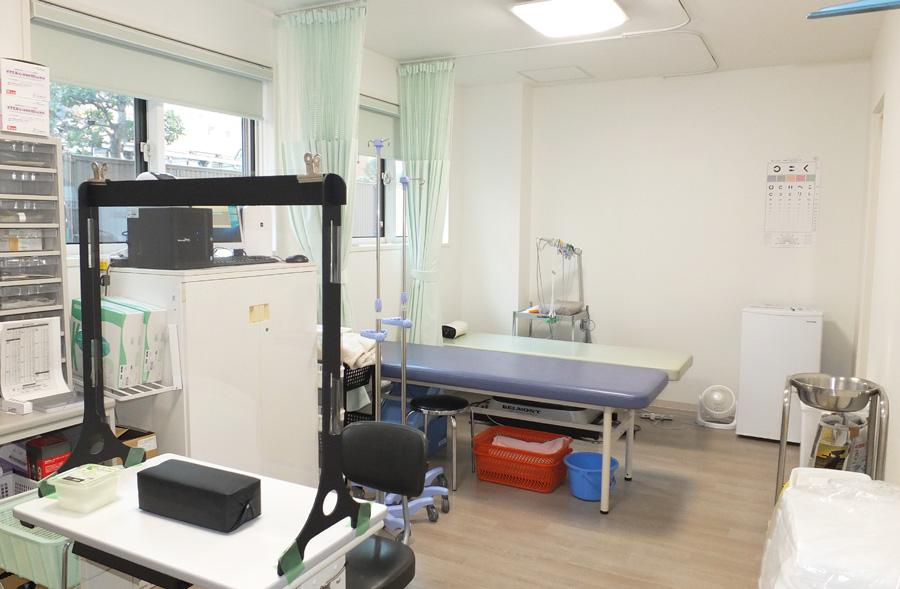 大西医院の処置室の写真